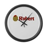 Olive (I Love) Robert Large Wall Clock