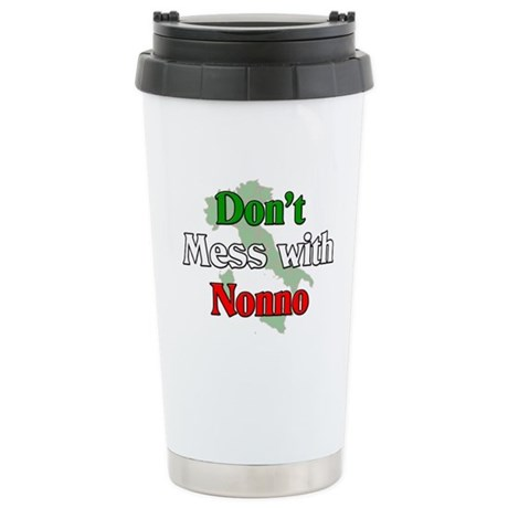 Don't Mess With Nonno Ceramic Travel Mug