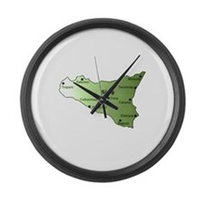 Sicily Large Wall Clock