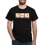 Eat Sleep Hammer Throw Dark T-Shirt