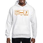 Eat Sleep Hammer Throw Hooded Sweatshirt