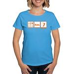 Eat Sleep Hammer Throw Women's Dark T-Shirt