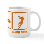 Eat Sleep Hammer Throw Mug
