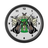 Lead Guitar Large Wall Clock