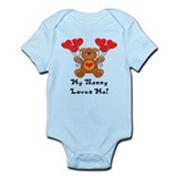 My Nanny Loves Me! Infant Bodysuit