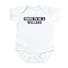 Proud to be Willard Infant Bodysuit
