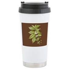 Coffee Plant Ceramic Travel Mug