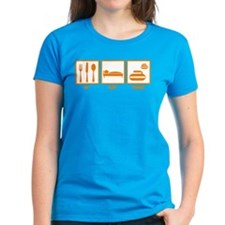 Eat Sleep Curling Tee