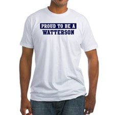 Proud to be Watterson Shirt