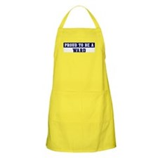 Proud to be Ward BBQ Apron