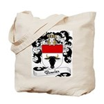 Bouvier Family Crest Tote Bag