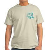 Missing My Grandma 1 TEAL T-Shirt