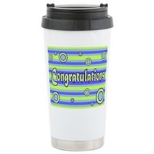 Congratulations Ceramic Travel Mug