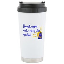 Housekeeper Appreciation Ceramic Travel Mug