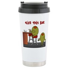 Olive This Bar Ceramic Travel Mug