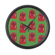 Vintage Toy Walrus Large Wall Clock