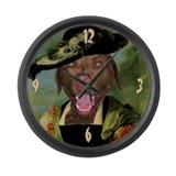 Chesapeake RUBENS Large Wall Clock