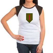Women's Cap Sleeve - Military 1st Infantry