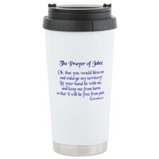 Jabez Prayer Ceramic Travel Mug