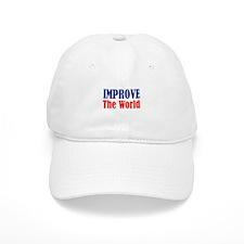 """Improve the World"" Baseball Cap"