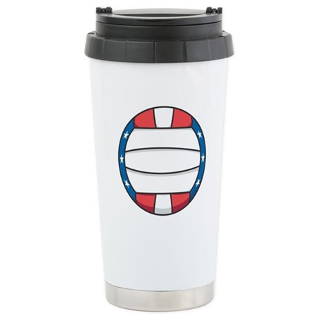 Stars and Stripes (USA) Volle Ceramic Travel Mug
