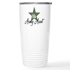 Army Aunt Thermos Mug