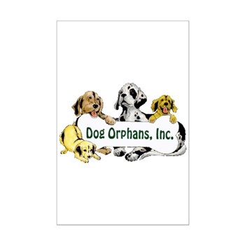 Dog Orphans Mini Poster Print