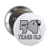 "59th Birthday GRY 2.25"" Button (10 pack)"