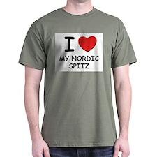 I love MY NORDIC SPITZ T-Shirt