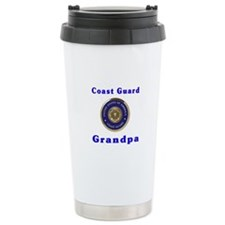 coast guard grandpa Ceramic Travel Mug