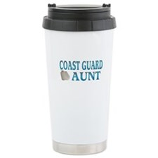 coast guard aunt Ceramic Travel Mug