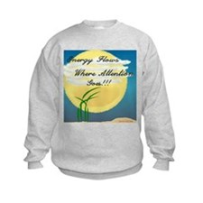 Energy Flows Where Attention Sweatshirt