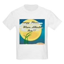 Energy Flows Where Attention T-Shirt