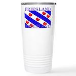 Friesland Frisian Flag Stainless Steel Travel Mug