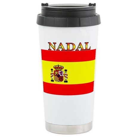 Nadal Spain Spanish Flag Ceramic Travel Mug