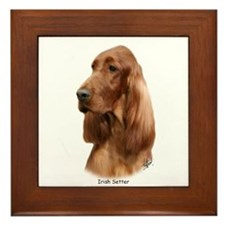 Irish Setter 9Y177D-97 Framed Tile