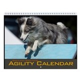 Shetland Sheepdog Agility Wall Calendar