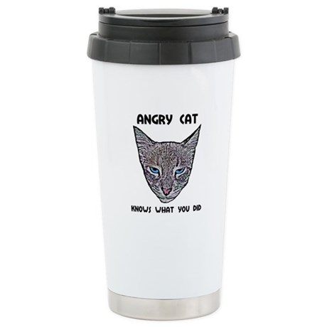 Knows What You Did Ceramic Travel Mug