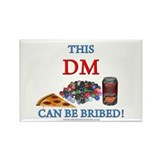 DM - Bribe Rectangle Magnet