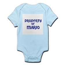 Property of Mario Infant Creeper