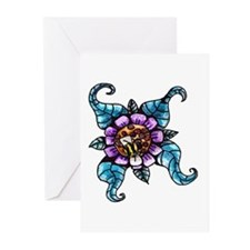 honey bee Greeting Cards (Pk of 20)