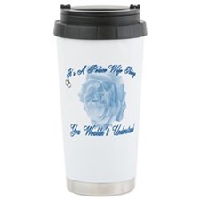 Police Wife Thing Travel Mug