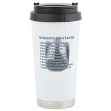 All For Christine Ceramic Travel Mug