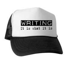 Writing Is Trucker Hat