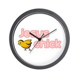 Cute Religious Wall Clock