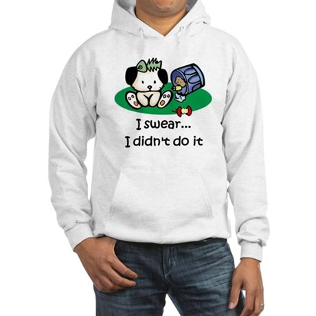 I swear I didn't do it Hooded Sweatshirt