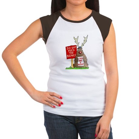 Do Not Feed the Bears Women's Cap Sleeve T-Shirt