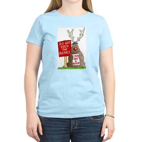 Do Not Feed the Bears Women's Light T-Shirt