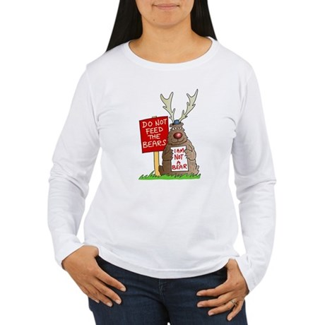 Do Not Feed the Bears Women's Long Sleeve T-Shirt