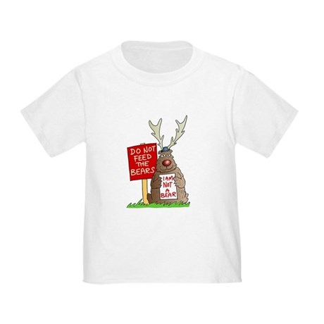 Do Not Feed the Bears Toddler T-Shirt